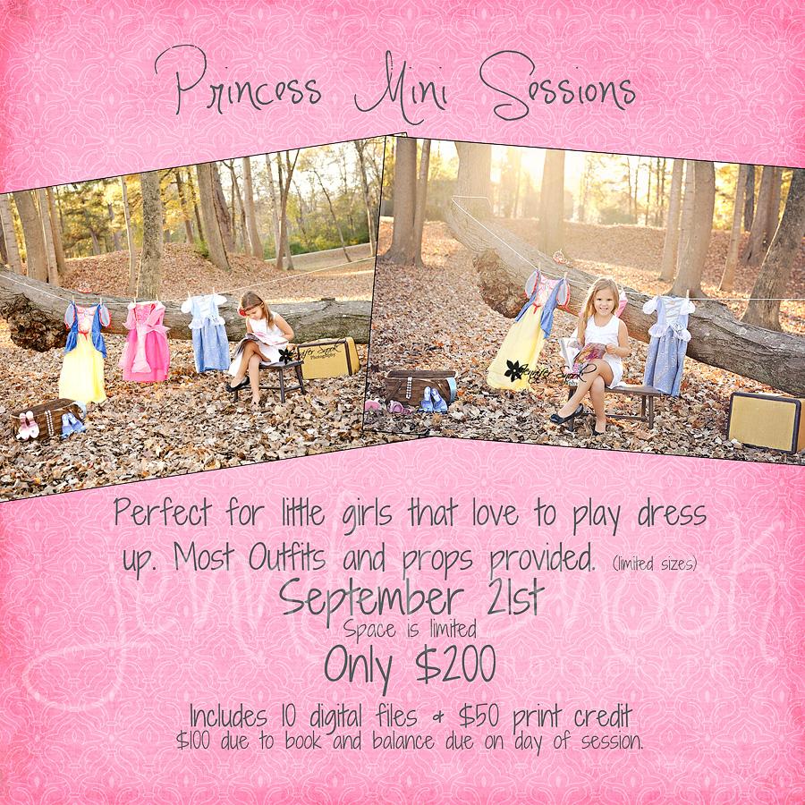 Princess amp super hero mini sessions mcdonough child photographer